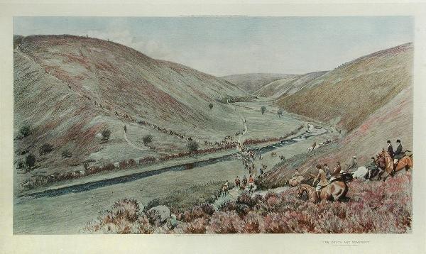 1045: AFTER CECIL ALDIN   THE DEVON & SOMERSET, OVER BA