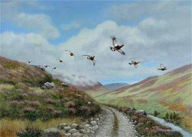 1100: RICHARD ROBJENT DRIVEN GROUSE IN AUGUST