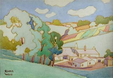 1001: ROBERT SYDNEY RENDLE WOOD (BRITISH, 1895)
