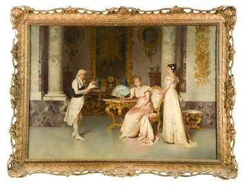 Francesco Beda (Italian 1840-1900)