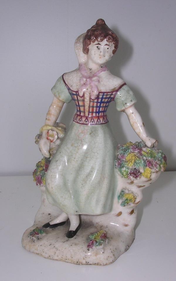 6: A STAFFORDSHIRE LADY 'FLORA'