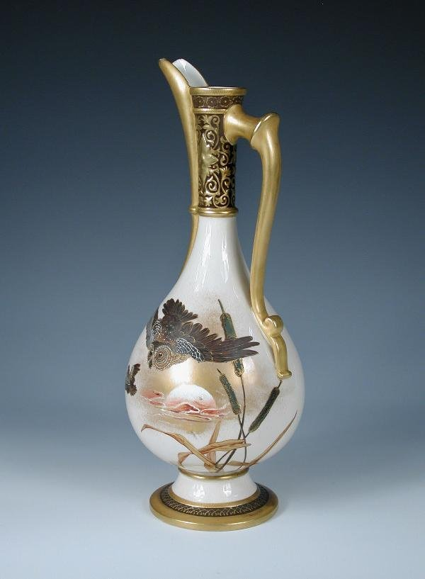 17: A WORCESTER AESTHETIC EWER