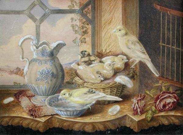 308: MAUD WITHERS (BRITISH, FL.1878-1898)