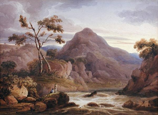 313: CIRCLE OF FRANCIS NICHOLSON (BRITISH, 1753-1844)
