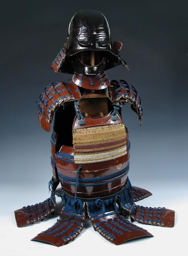 549: A JAPANESE SUIT OF ARMOUR, PROBABLY 18TH/19TH