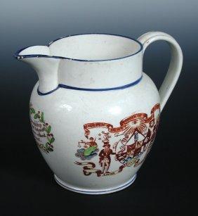 An Early 19th Century Creamware Jug