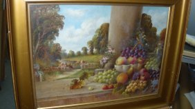 James Henry Liseron Lewis, an oil painting dated 1933,