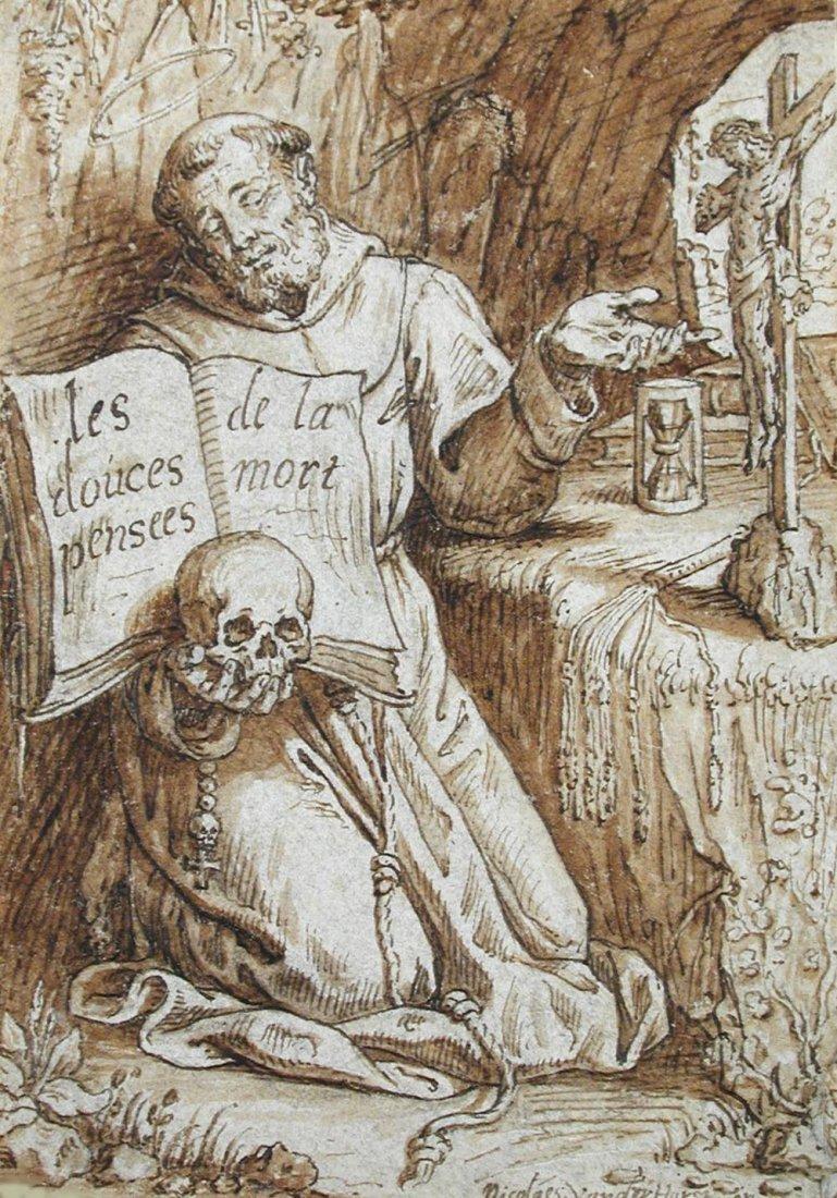 Nicolaus van der Horst (1587-1646) - Saint Francis of A