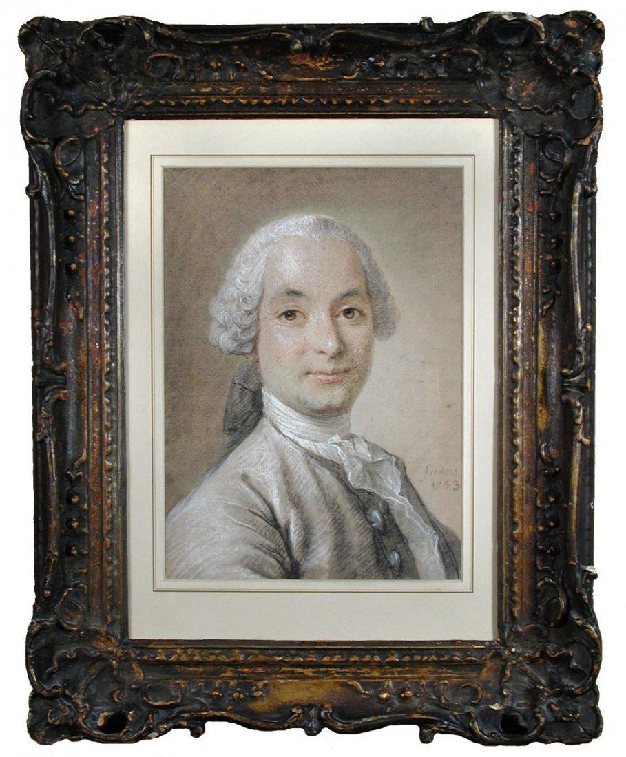 Jean Martial Fredou (French, 1710-1795) Portrait of Mon