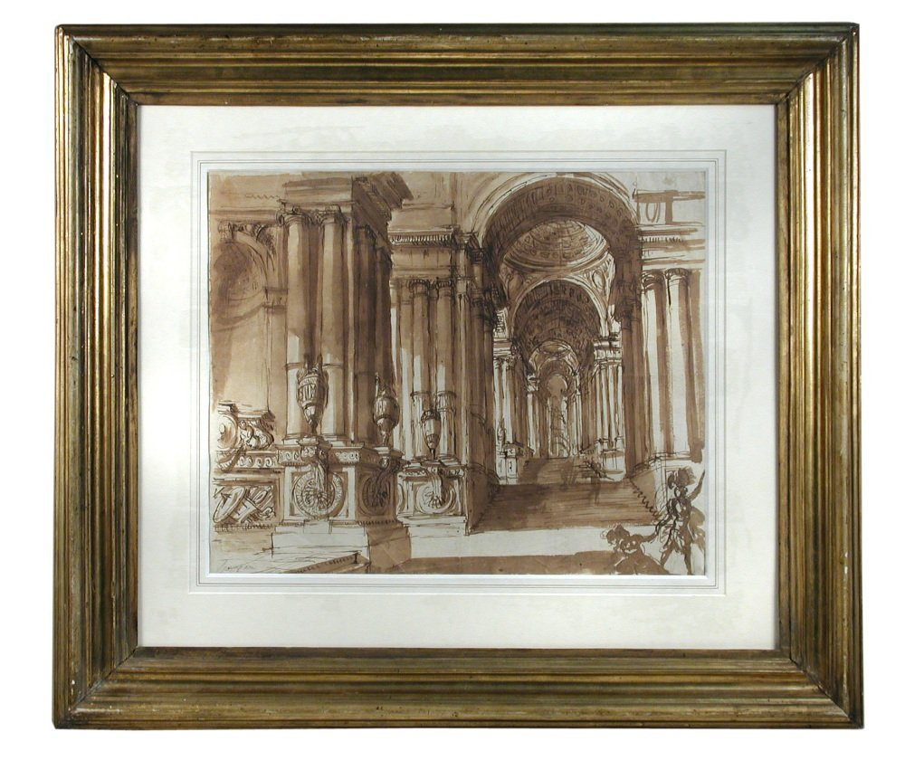 Giuseppe Vincenzo Spampani (Italian, 1768-1828) - Archi