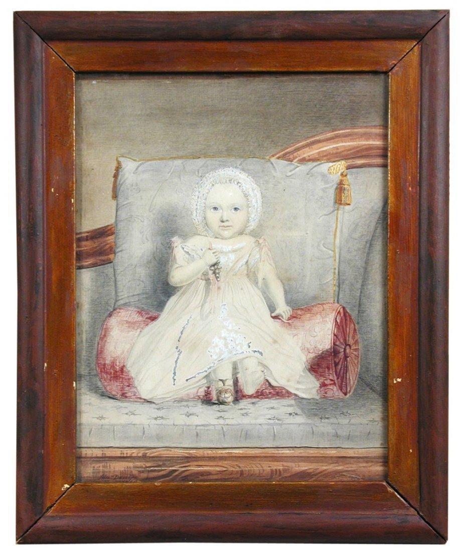 Alexander Davidson (British, 19th Century) -  Portrait