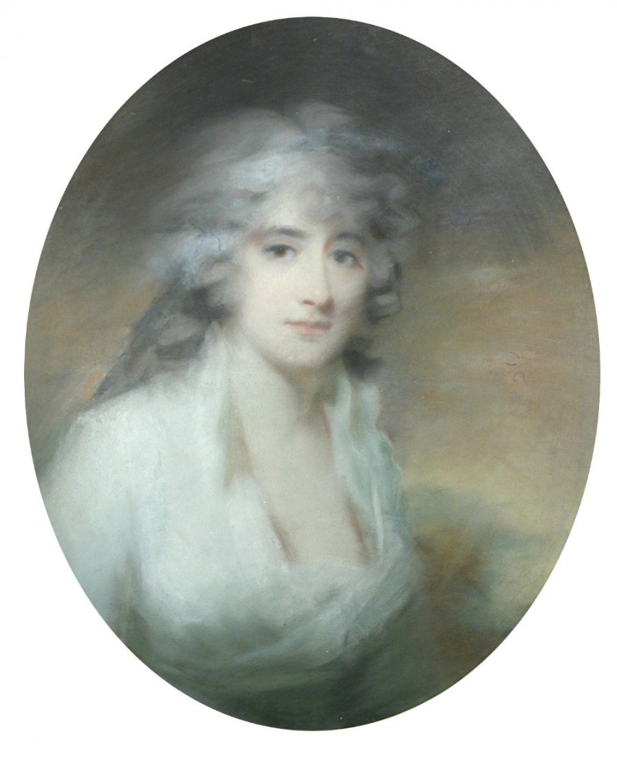Attributed to John Russell, RA (1745-1806)  - Portrait