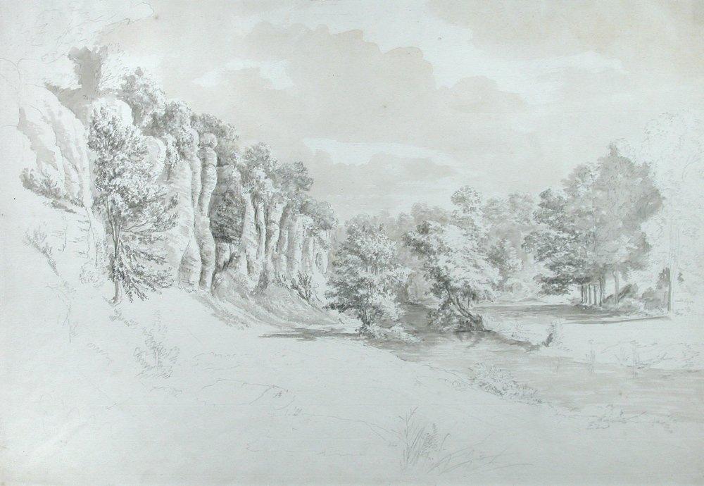 Hendrik de Cort (Dutch, 1742-1810) - Study of Rocks in