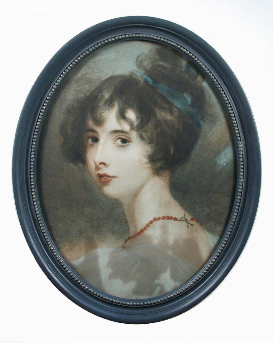 English School (18th-early 19th Century) - Portrait of