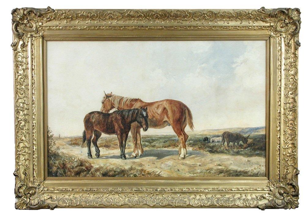 Henry Brittan Willis (British, 1810-1884) - New Forest