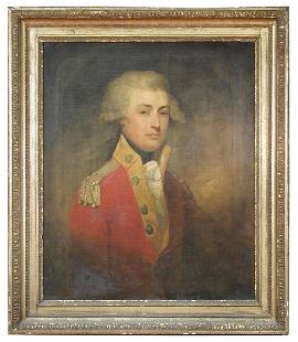 Gilbert Stuart (American, 1755-1828) - Portrait of Maj