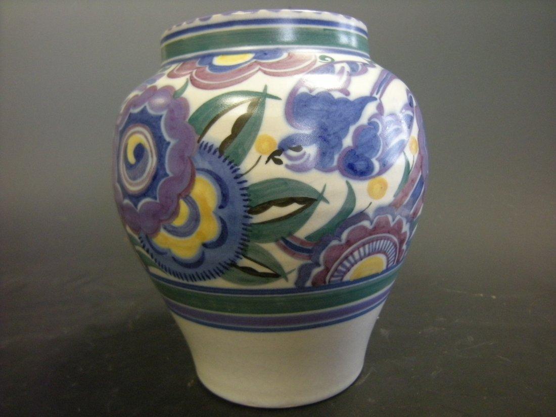 A Carter, Stabler, Adams Poole Pottery Bluebird pattern