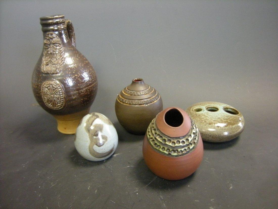 Two Poole Atlantis ware vases,