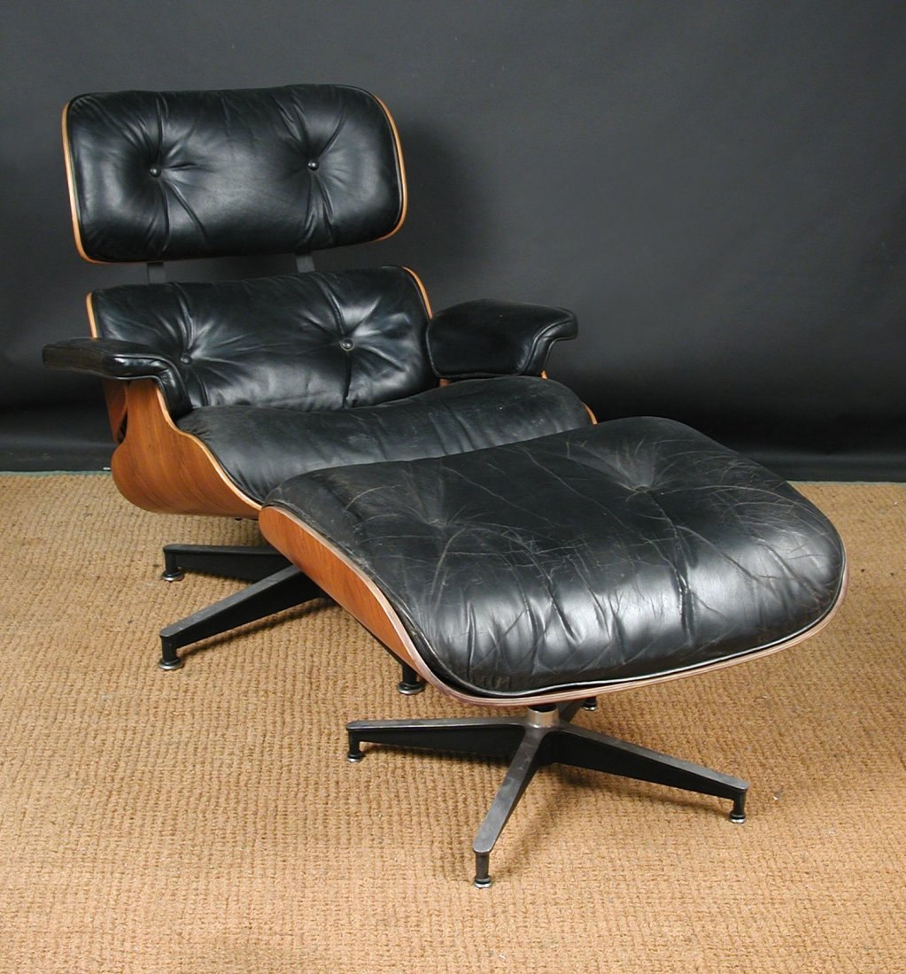Charles & Ray Eames for Herman Miller, a model 670 loun