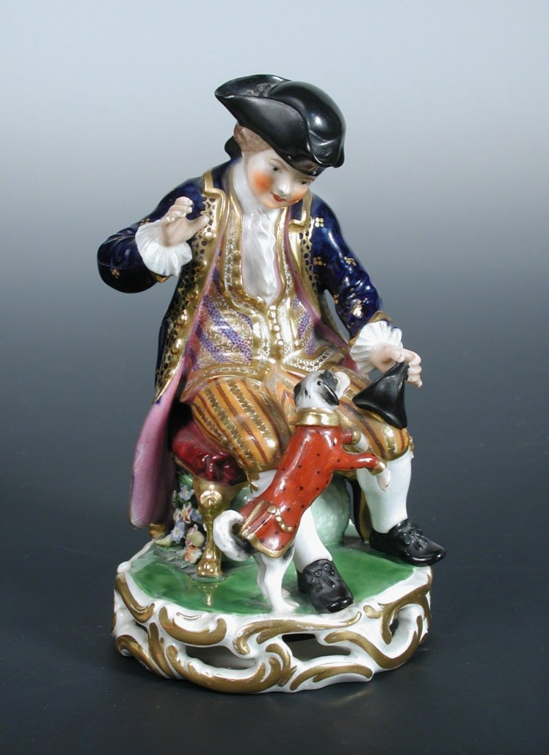A Bloor Derby figure of a man