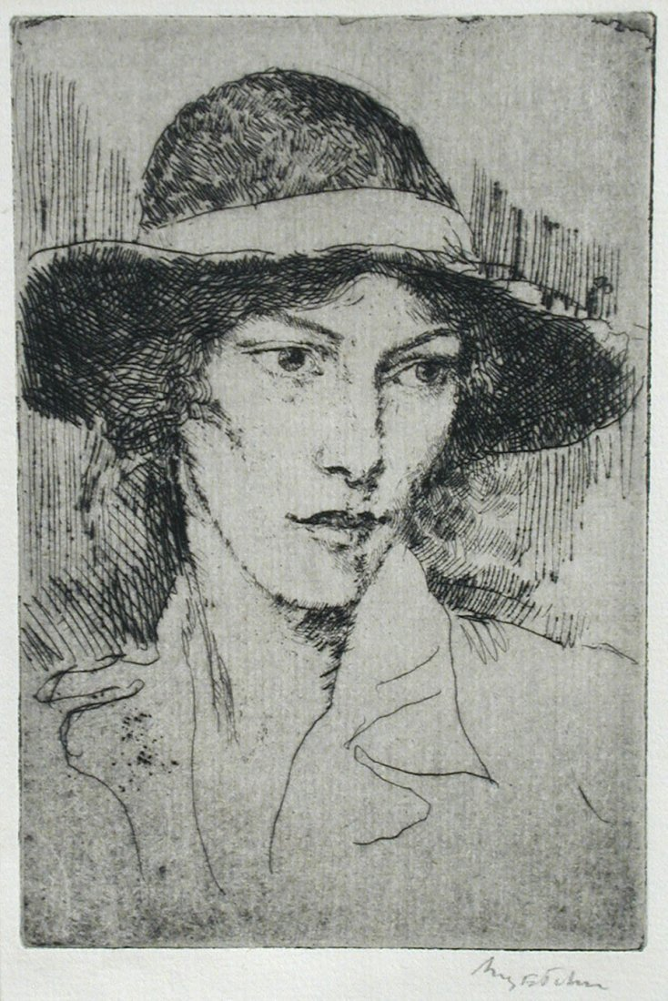 § Augustus Edwin John, OM, RA (British, 1878-1961) - A
