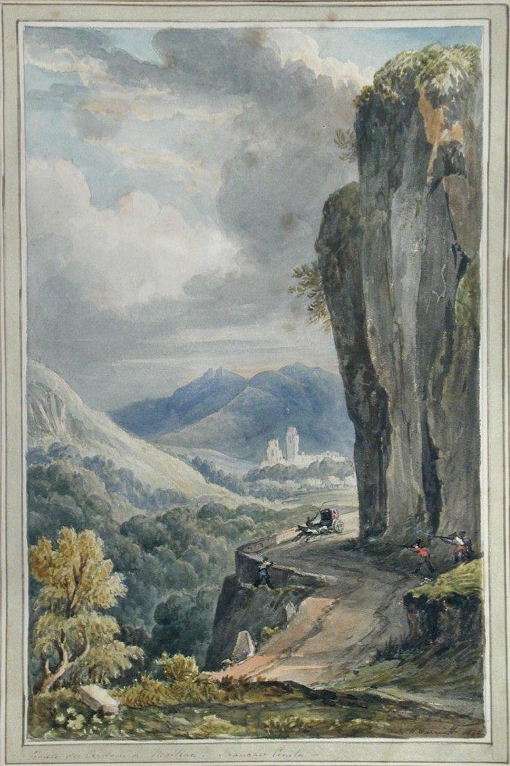 William Henry Harriott (British, fl. 1811-1839) - Route
