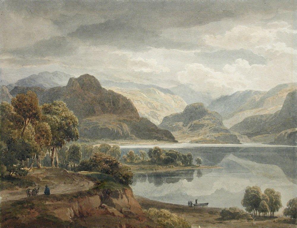 Ramsay Richard Reinagle (1775-1862) - Grange Fell and