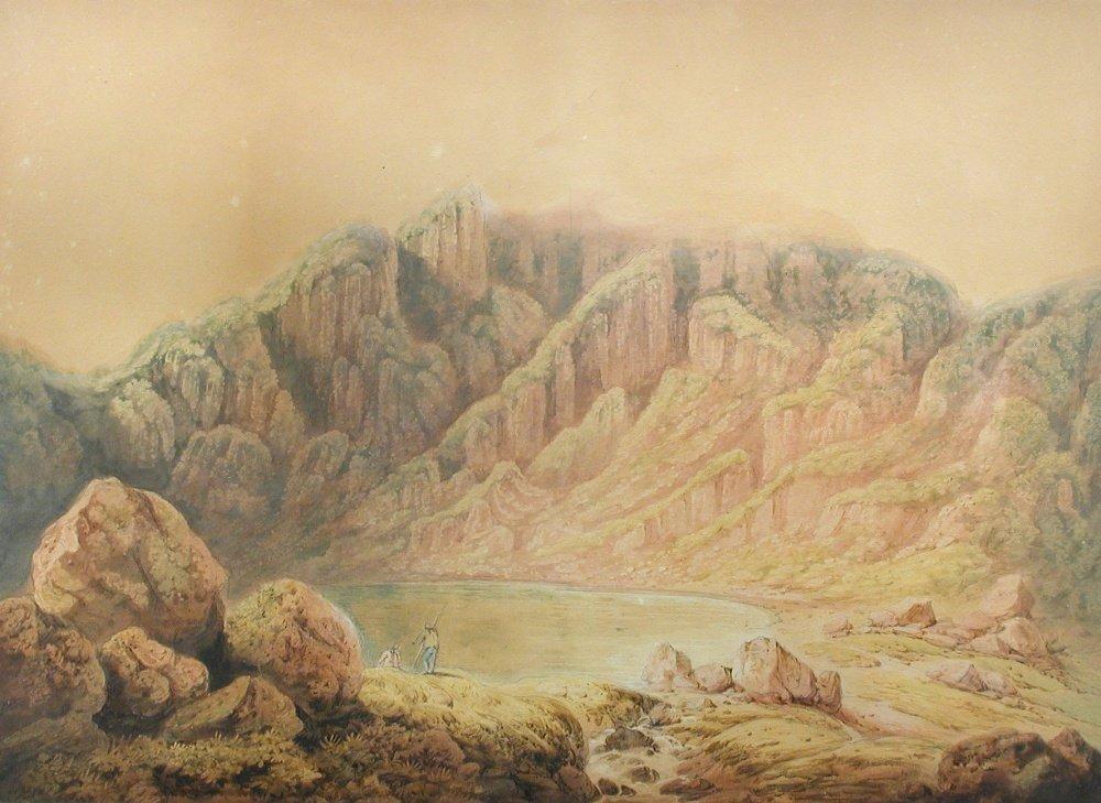 Francis Nicholson, RWS - The Summit of Cader Idris,