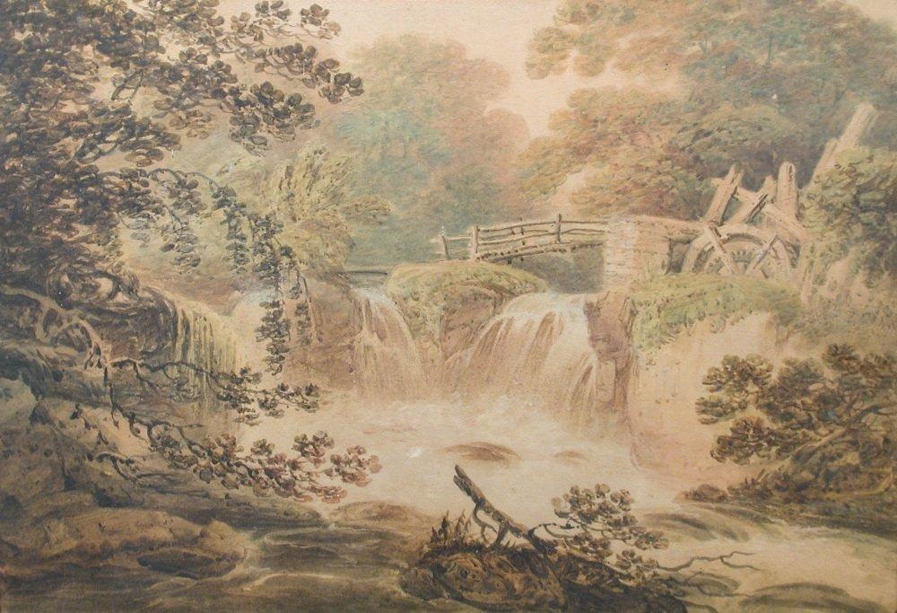 Francis Nicholson, RWS - Rocky River Landscapes   -