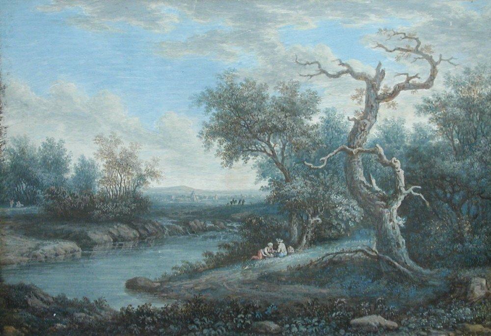 Henri-oseph van Blarenberghe - Italianate landscapes -