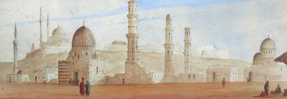 Paul Braddon (British, 1864-1938) - Views of Cairo -