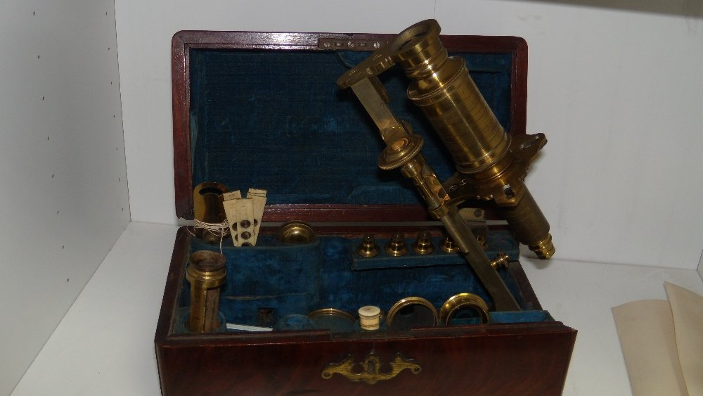 J Bennett, London', a George III mahogany cased brass