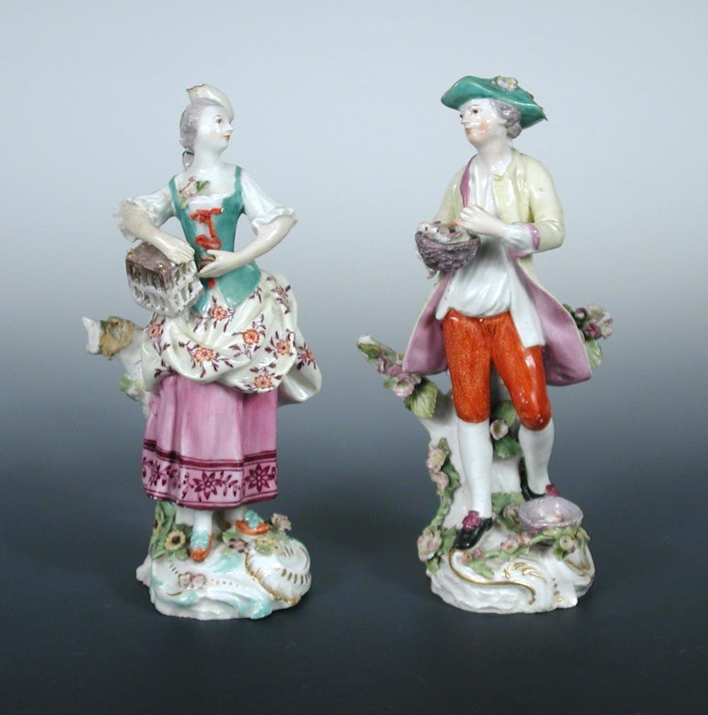 Two late 18th century figures,