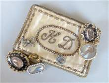 A collection of early and mid 19th century memento and