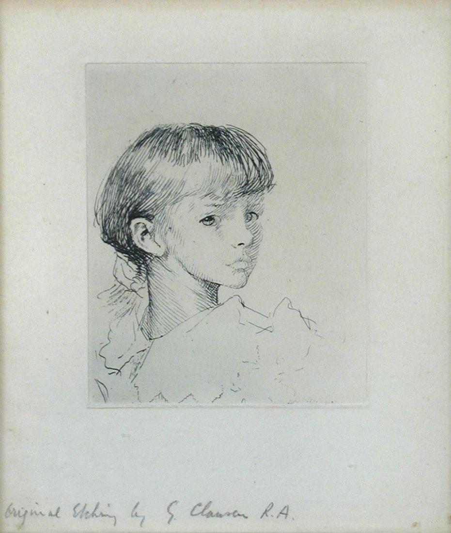 § Sir George Clausen, RA (British, 1852-1944)-  Little