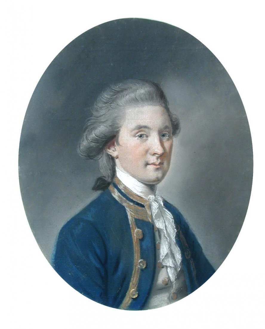 Hugh Douglas Hamilton -  Portrait of Charles, Lord