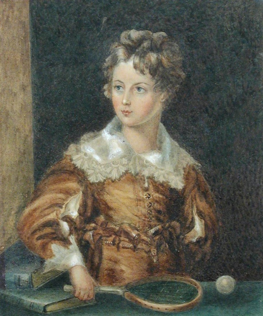 The Duchess of Leinster - Portrait of Lord Gerald