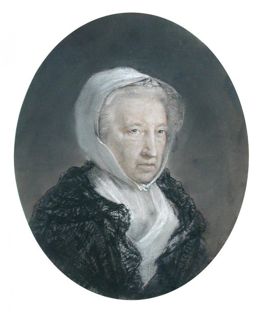 Hugh Douglas Hamilton - Portrait of the Countess of
