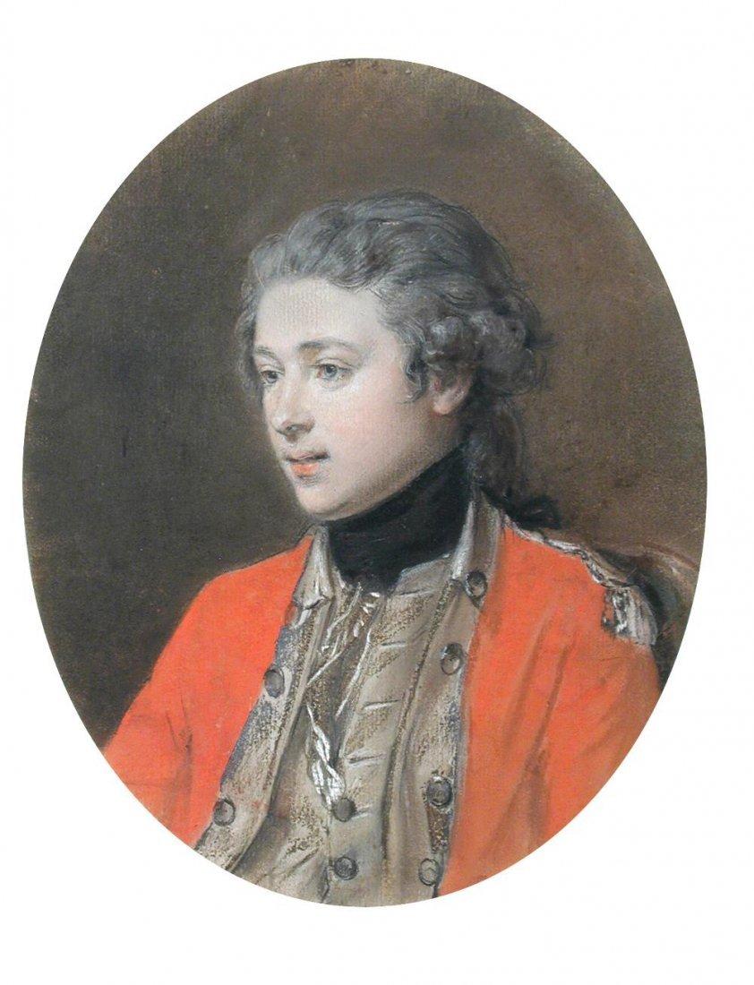 Hugh Douglas Hamilton -  Portrait of William Robert,