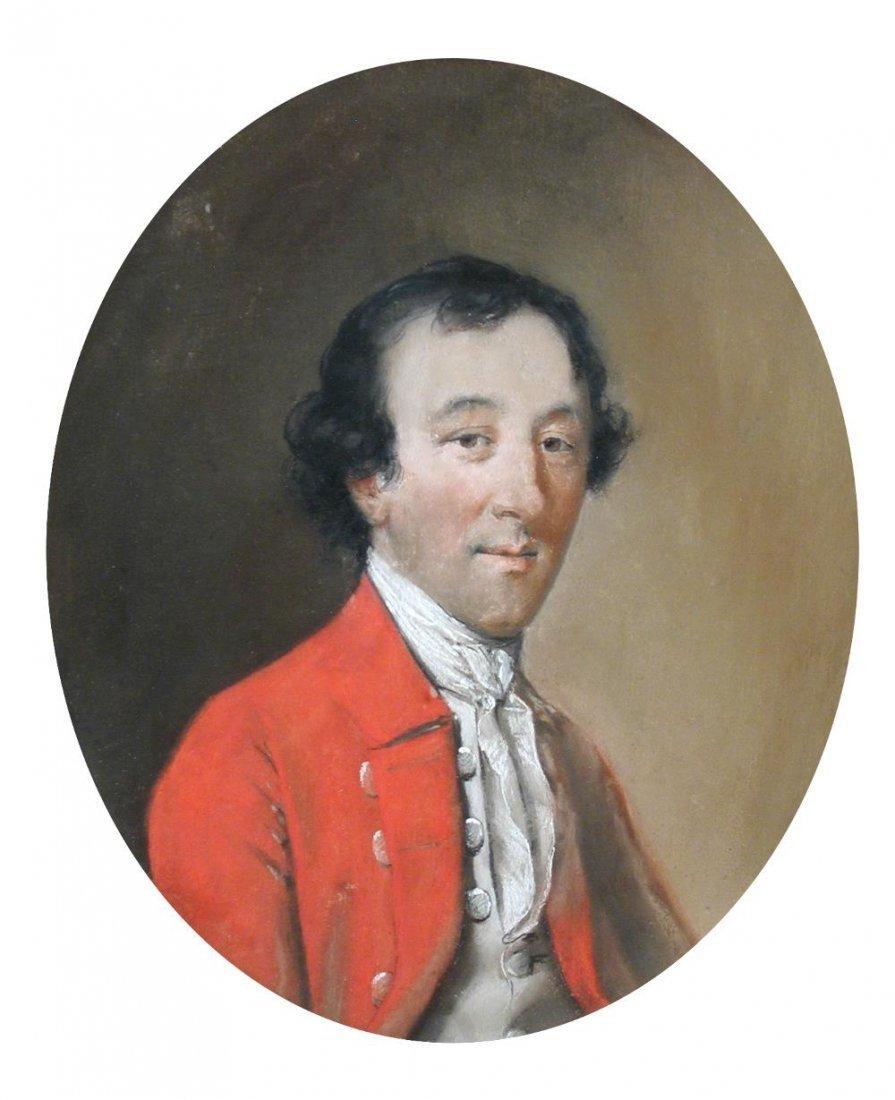 Hugh Douglas Hamilton (1739-1808) - Portrait of Thomas