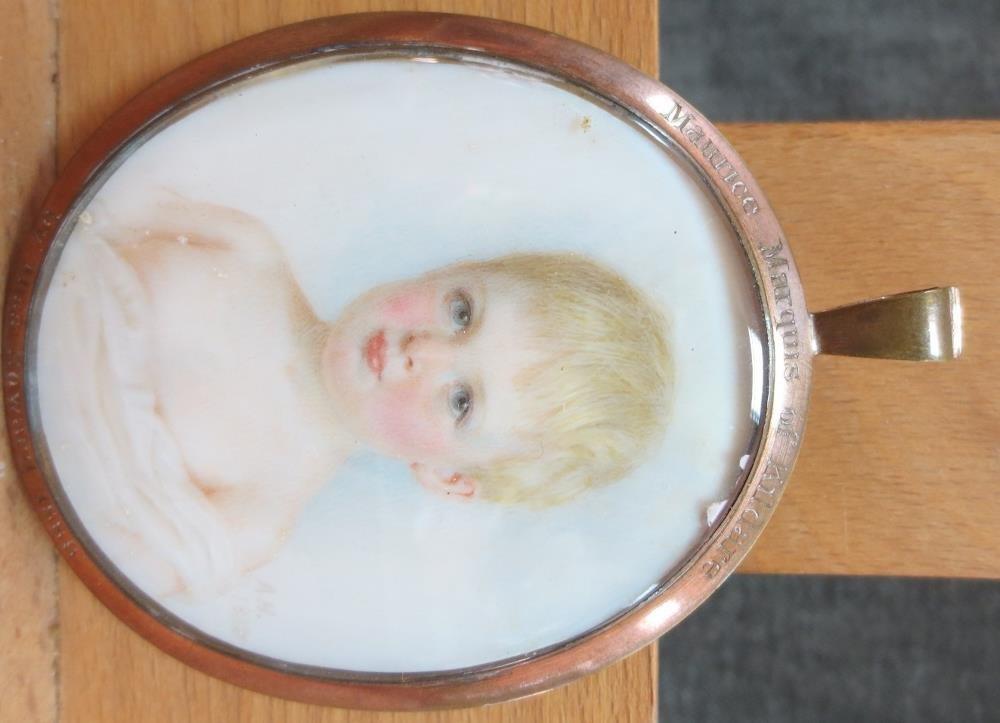Ann Howard (British, 19th Century) - Portrait of