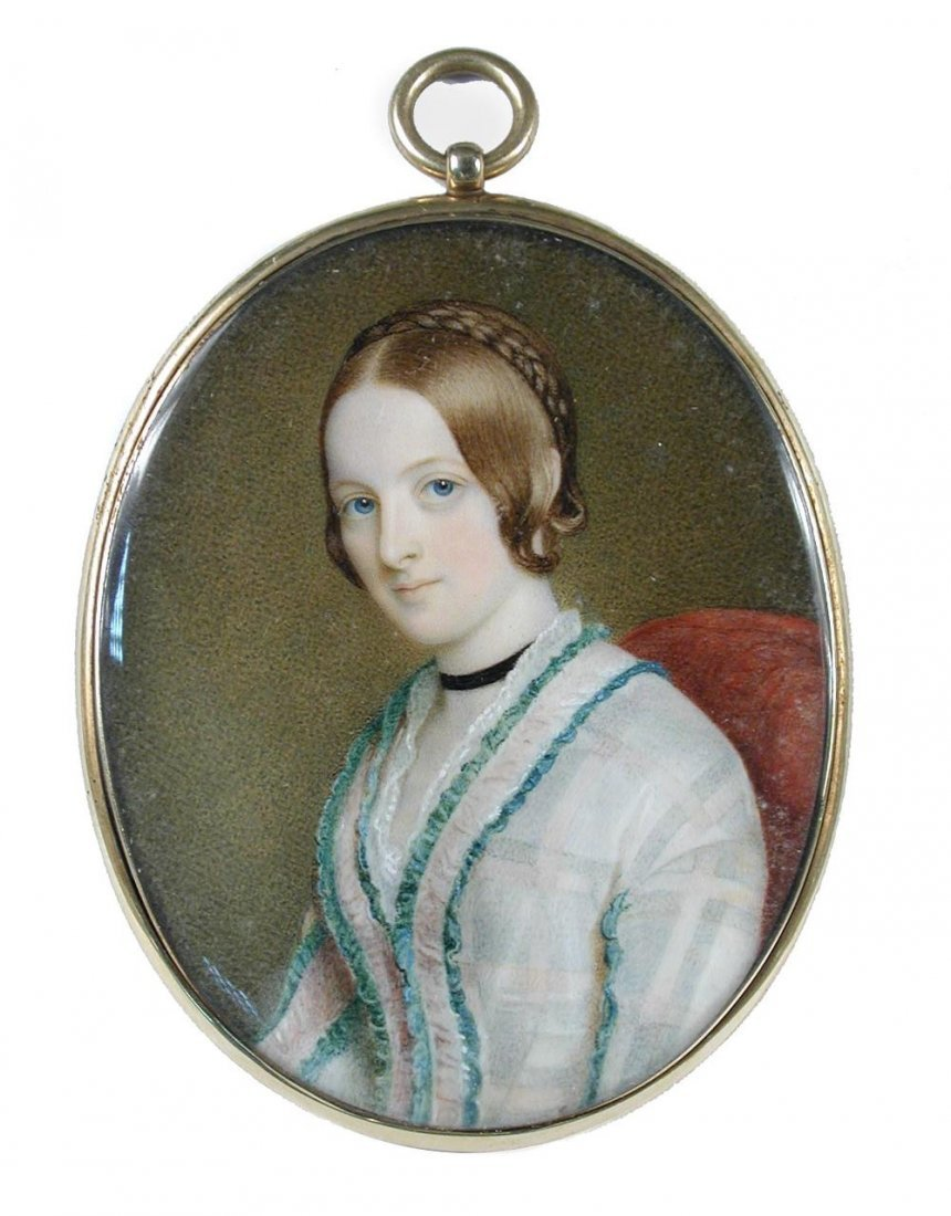Attributed to Sir William Ross, RA  - A Lady, possibly
