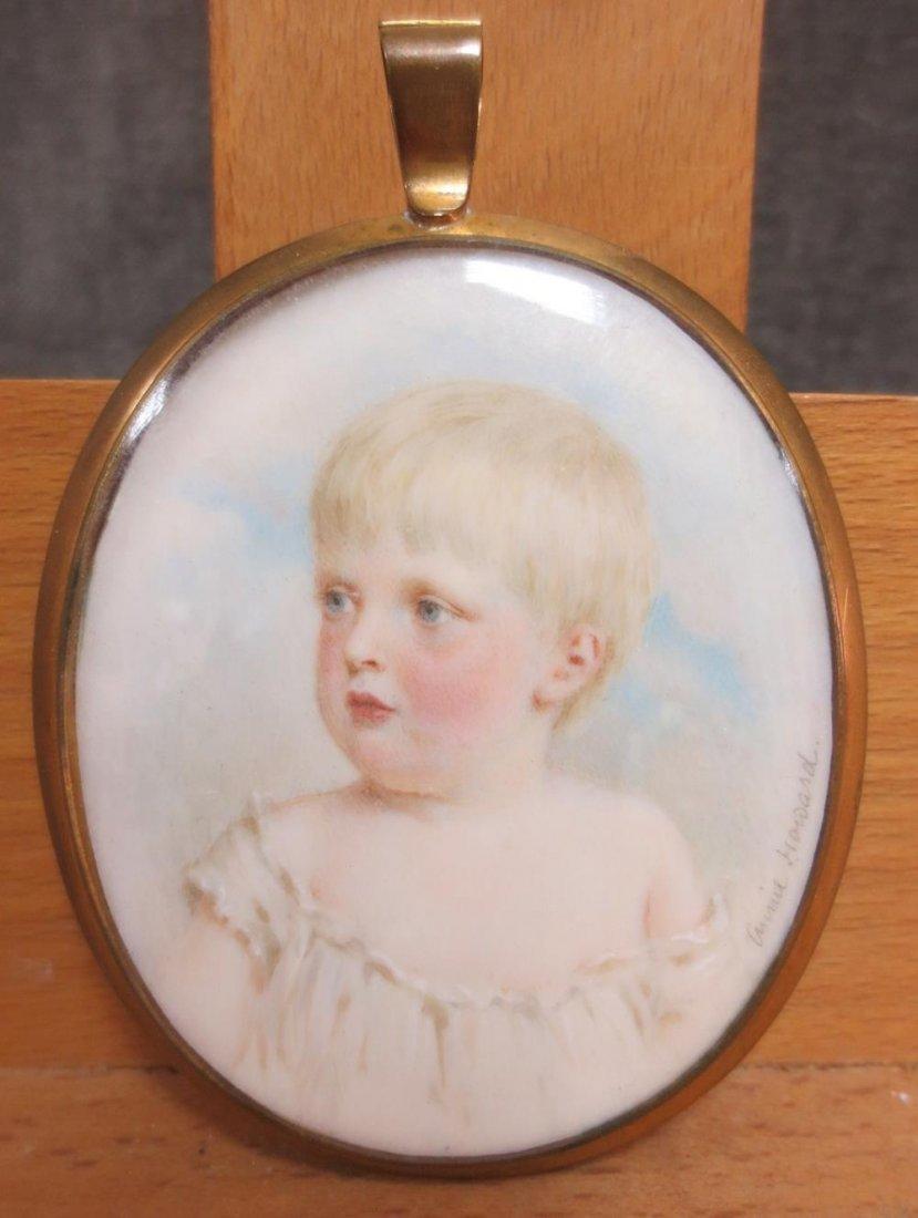 Ann Howard (British, 19th Century) - Lord Desmond