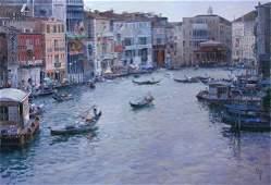 Jose Checa Galindo - Venice   - oil on canvas