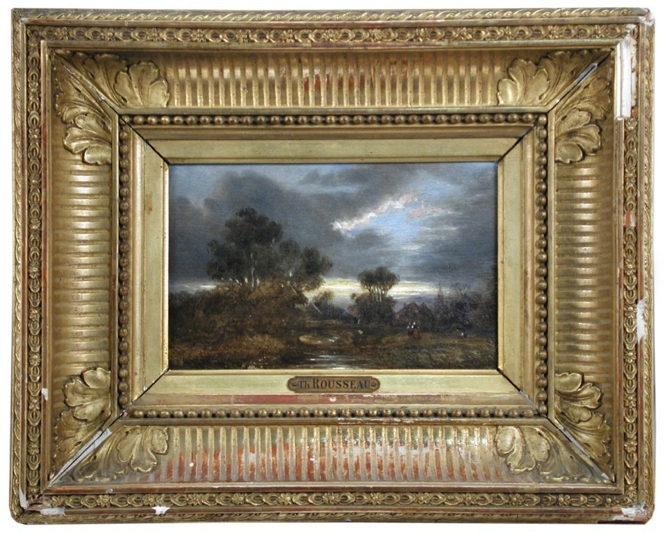 Attributed to Theodore Rousseau (French, 1812-1867)   -