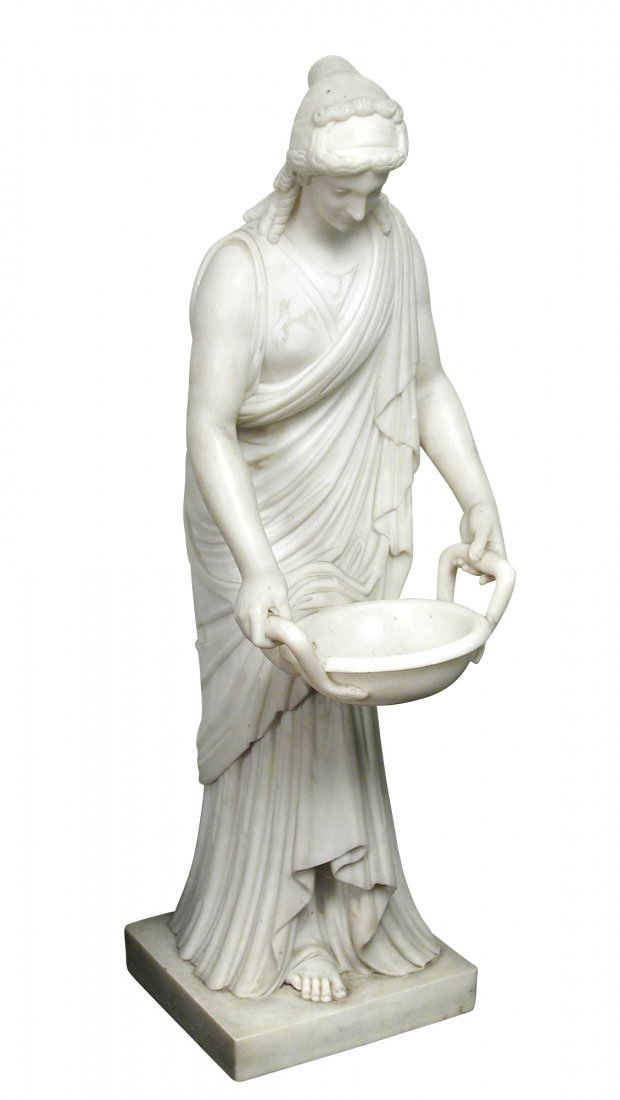 A Continental marble figure after the Antique, 19th
