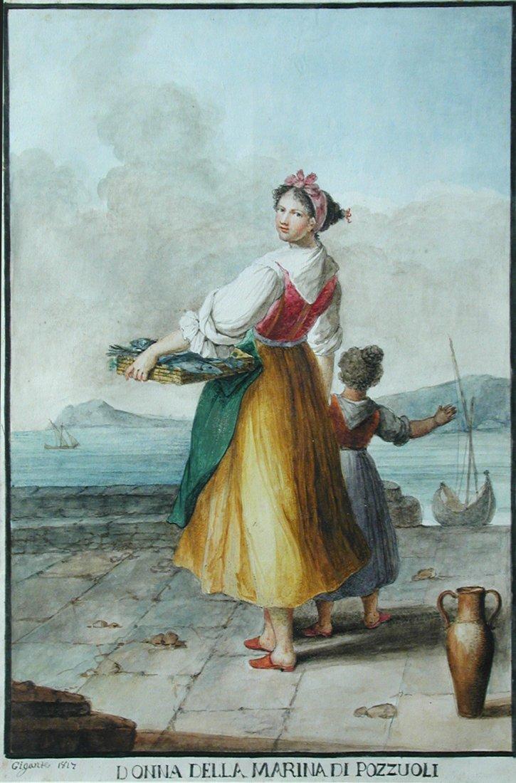 Gaetano Gigante (Italian, 1770-1840) A Maid of the Sea,