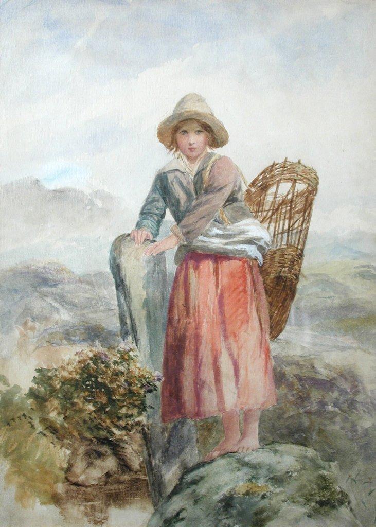 Paul Falconer Poole, RA, RI (British, 1807-1879) A
