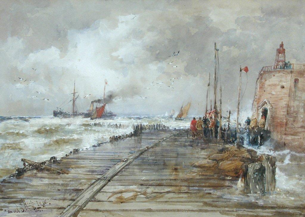 Thomas Bush Hardy, RBA (British, 1842-1897) An old