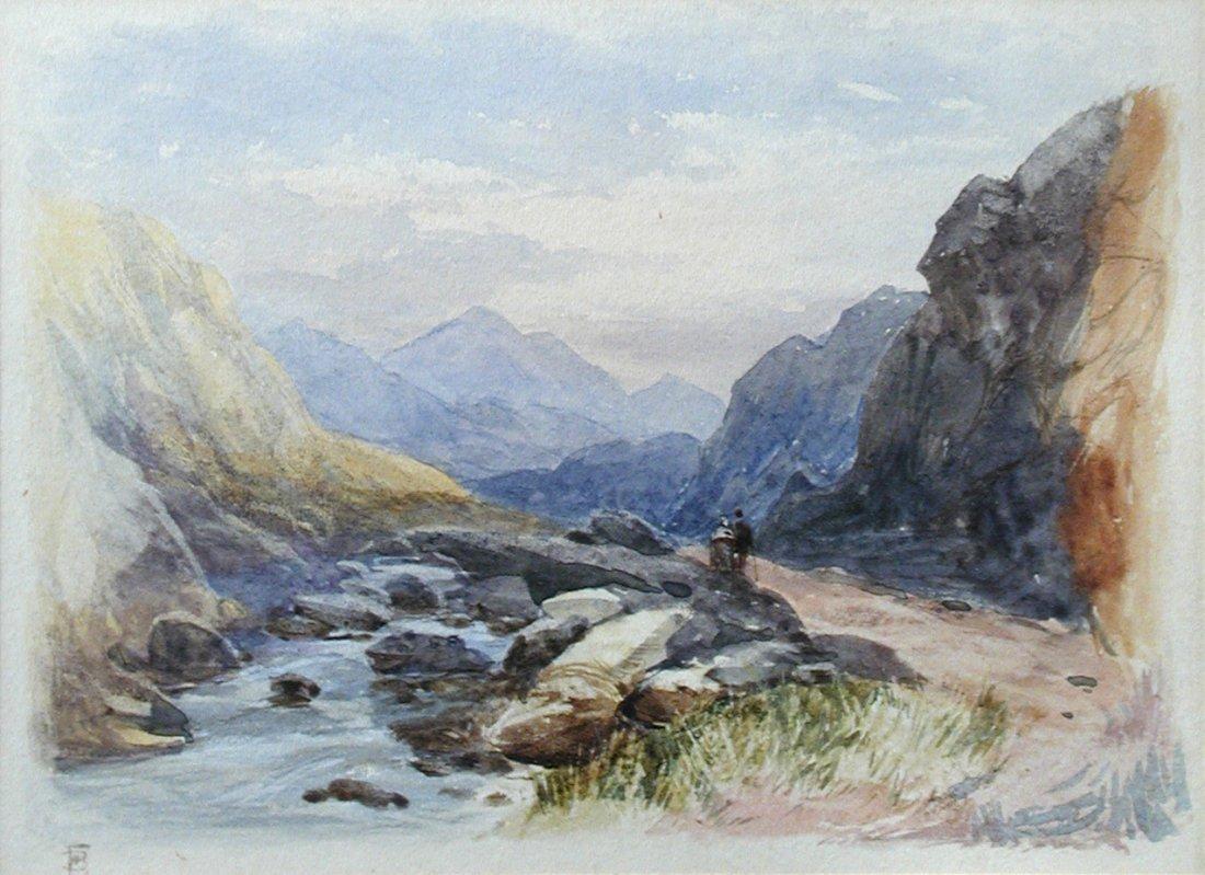 Myles Birket Foster, RWS (British, 1825-1899) The Pass